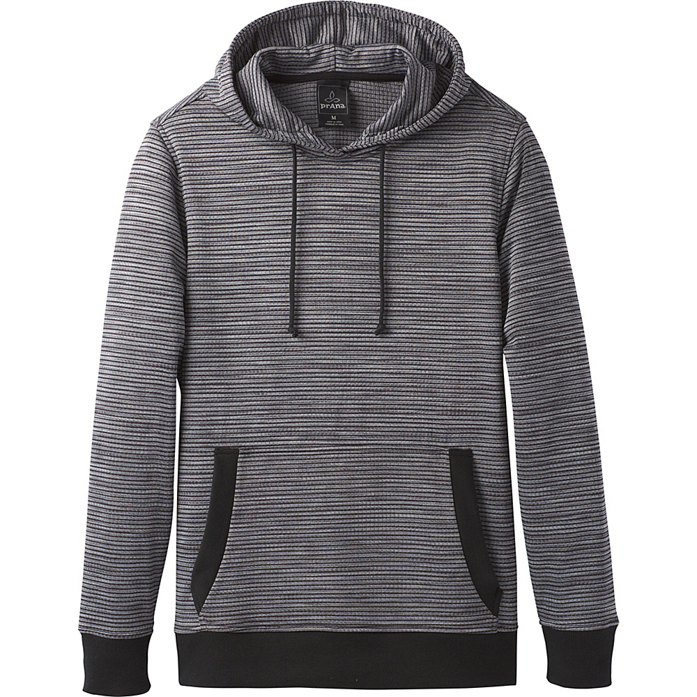 PrAna Gatten Hoodie XXL - Coal - PrAna Mens Apparel - Apparel & Footwear, Men's Apparel