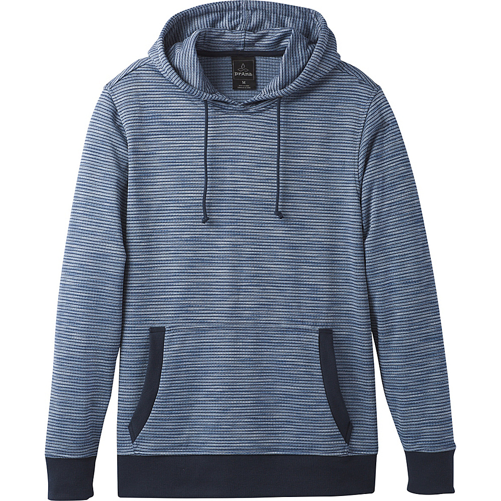 PrAna Gatten Hoodie L - Dusk Blue - PrAna Mens Apparel - Apparel & Footwear, Men's Apparel