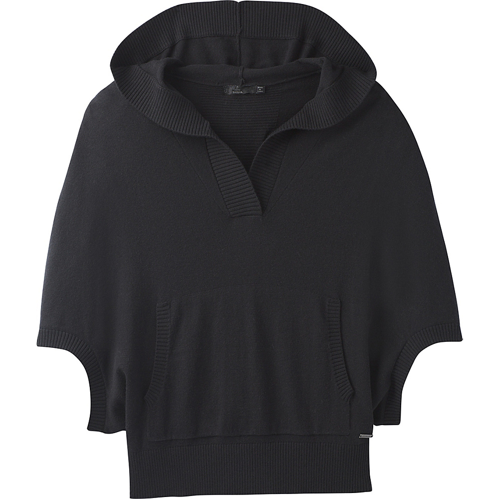 PrAna Daria Sweater Hoodie XL - Black - PrAna Mens Apparel - Apparel & Footwear, Men's Apparel