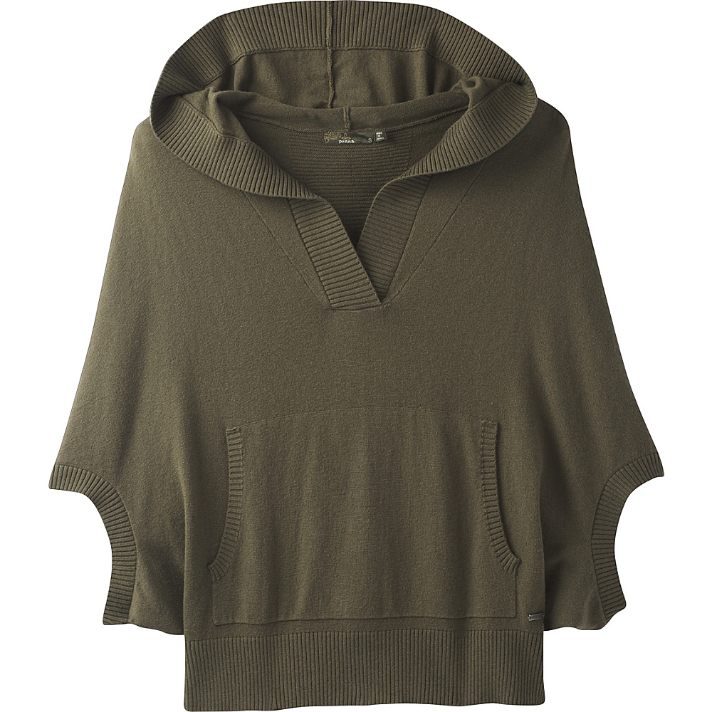 PrAna Daria Sweater Hoodie S - Cargo Green - PrAna Mens Apparel - Apparel & Footwear, Men's Apparel