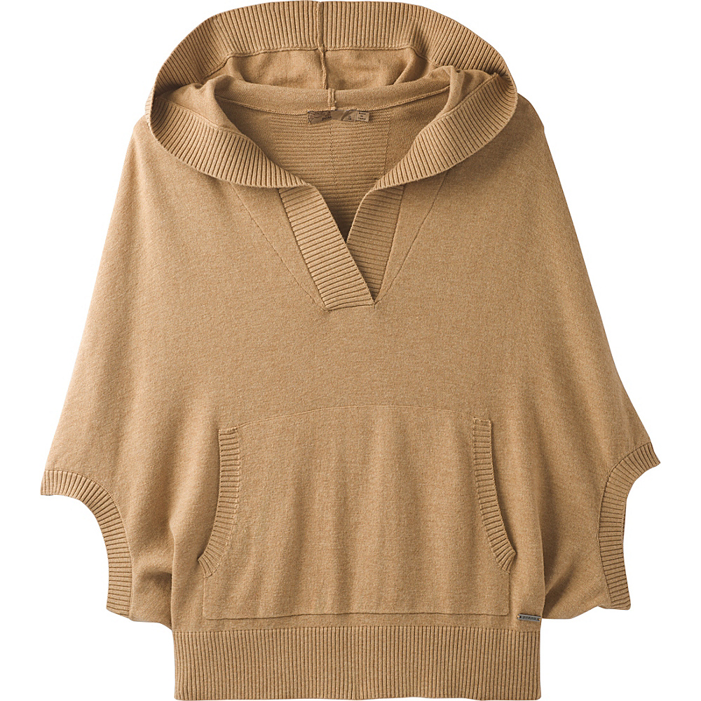 PrAna Daria Sweater Hoodie XL - Camel - PrAna Mens Apparel - Apparel & Footwear, Men's Apparel