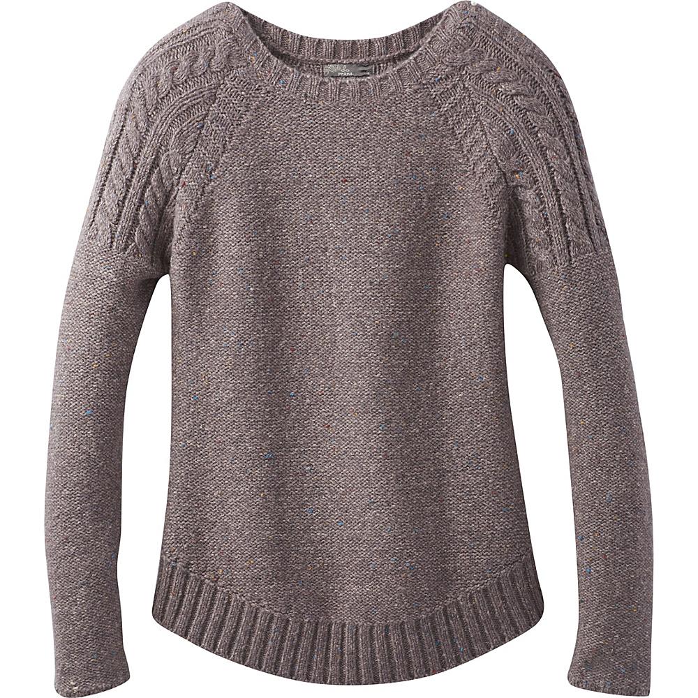 PrAna Pia Sweater L - Muted Truffle - PrAna Womens Apparel - Apparel & Footwear, Women's Apparel