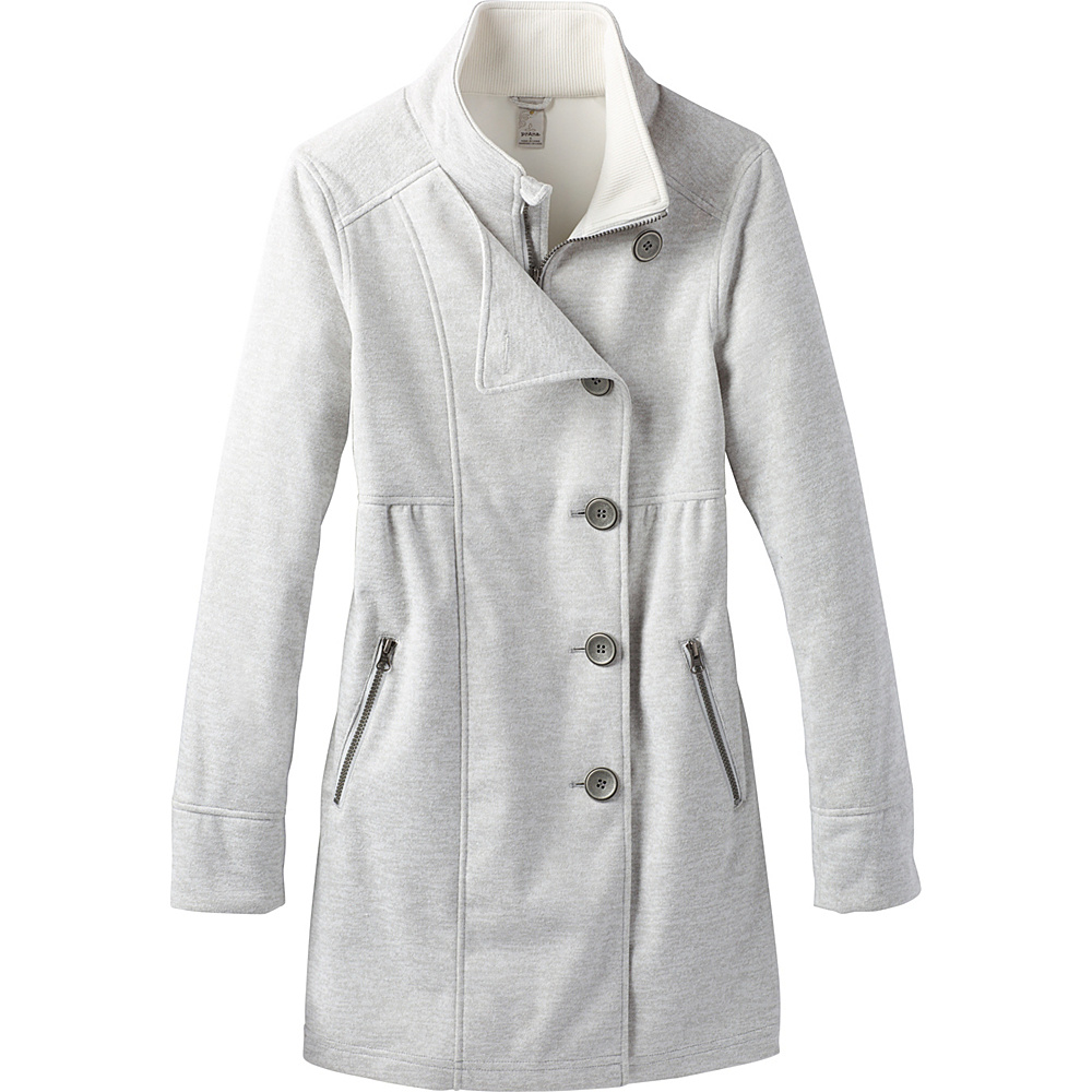 PrAna Martina Long Heathered Jacket M - Winter - PrAna Womens Apparel - Apparel & Footwear, Women's Apparel