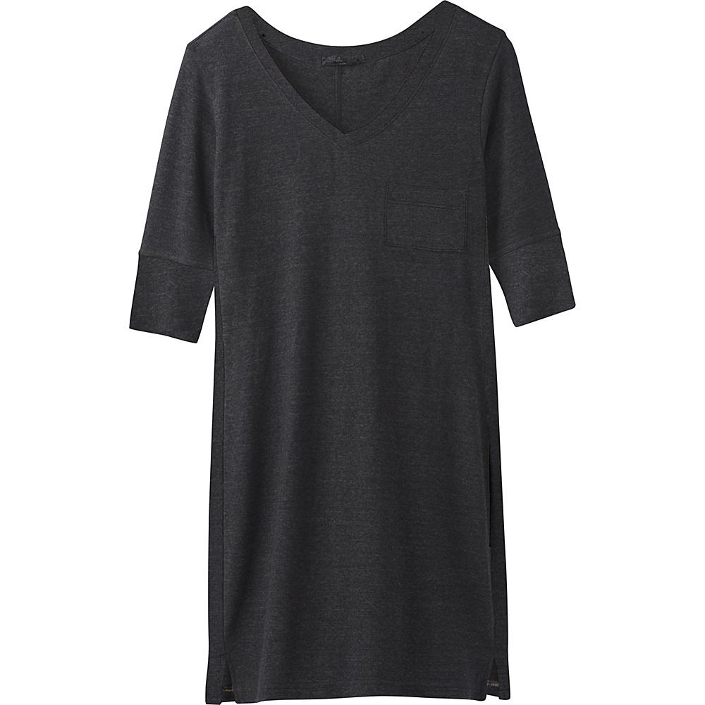 PrAna Matilda Dress S - Solid Black - PrAna Womens Apparel - Apparel & Footwear, Women's Apparel