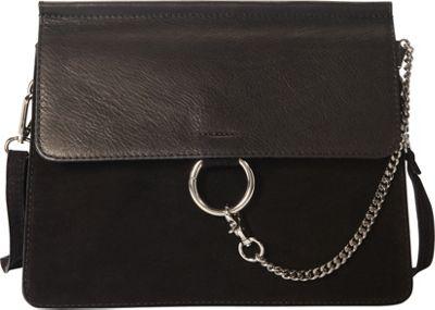 Markese Shoulder Bag Black - Markese Leather Handbags