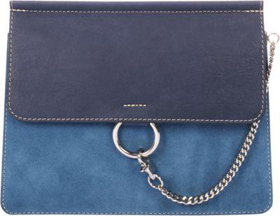 Markese Shoulder Bag Blue - Markese Leather Handbags