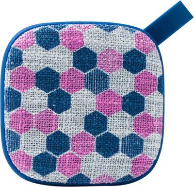 Yell by Voguestrap Fabric Printed 4 Watt Bluetooth Speaker Pink - Yell by Voguestrap Headphones & Speakers