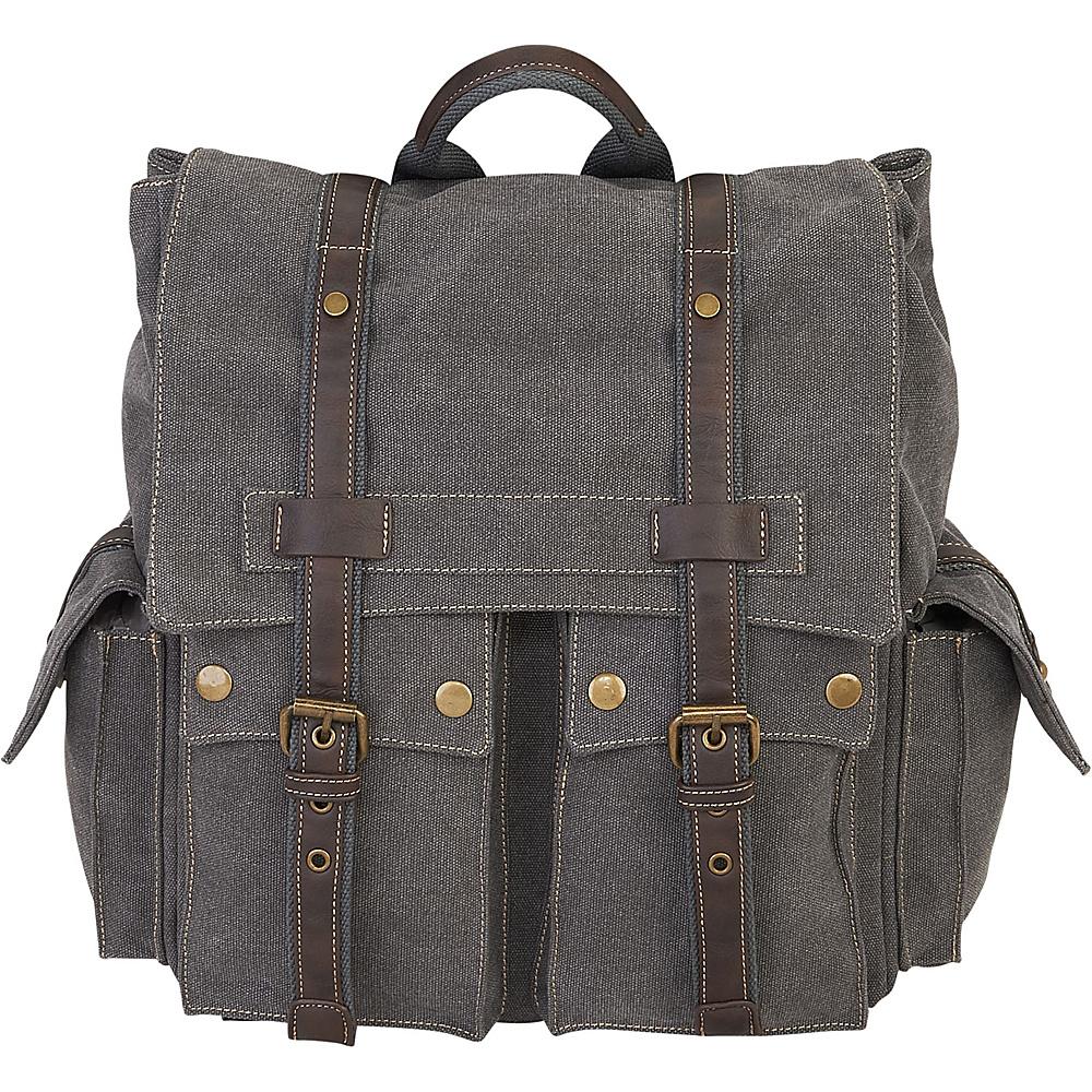 Sun N Sand Deacon Backpack Grey - Sun N Sand School & Day Hiking Backpacks - Backpacks, School & Day Hiking Backpacks