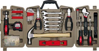 Apollo Tools 144 Piece Household Kit Grey - Apollo Tools Sports Accessories