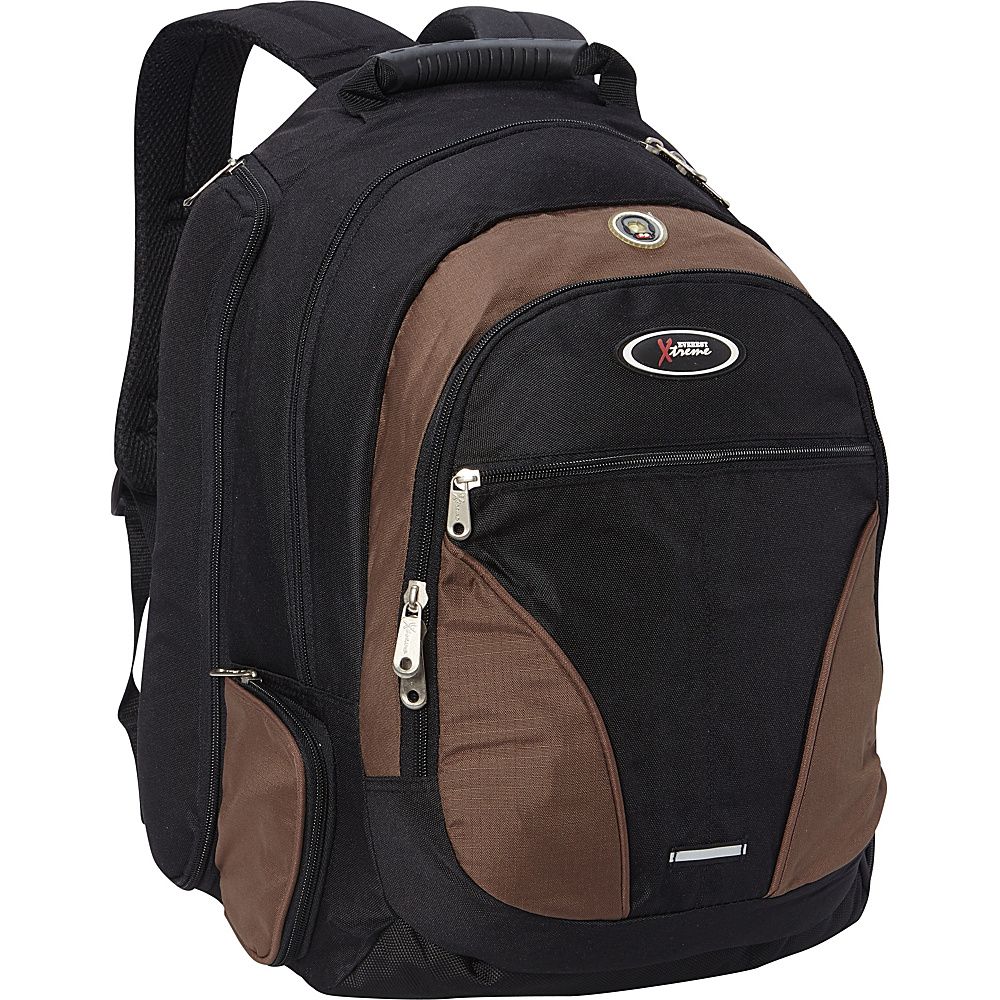 Everest Laptop Compartment Backpack Brown - Everest Laptop Backpacks - Backpacks, Laptop Backpacks