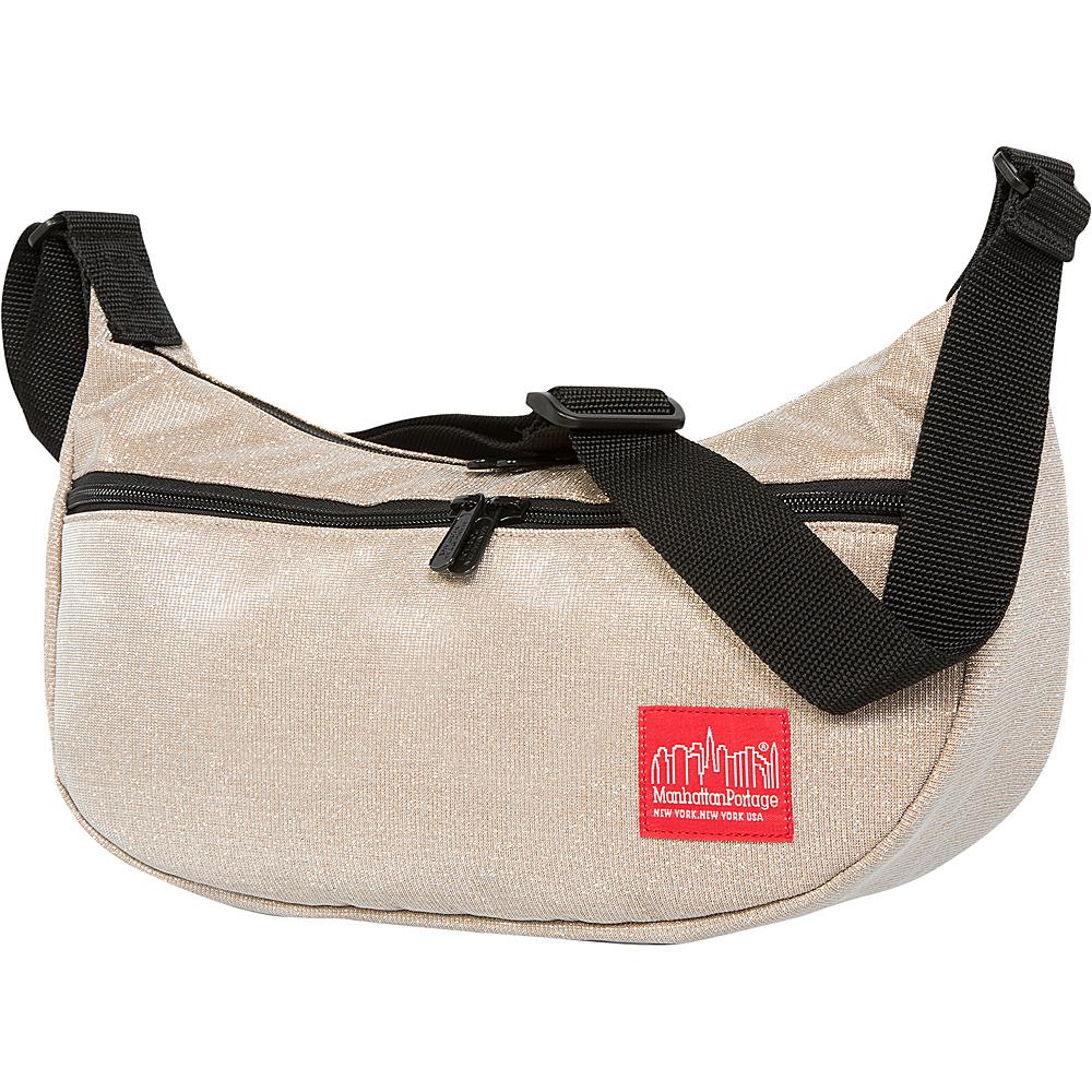 Manhattan Portage Midnight Crescent Street Shoulder Bag Champange - Manhattan Portage Designer Handbags - Handbags, Designer Handbags