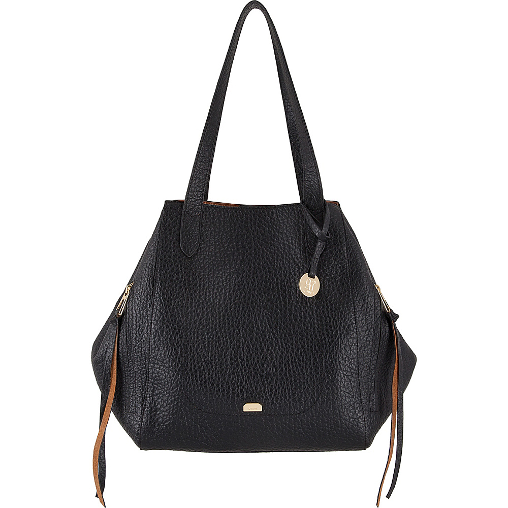 Lodis Borrego RFID Charlize Tote Black - Lodis Leather Handbags - Handbags, Leather Handbags