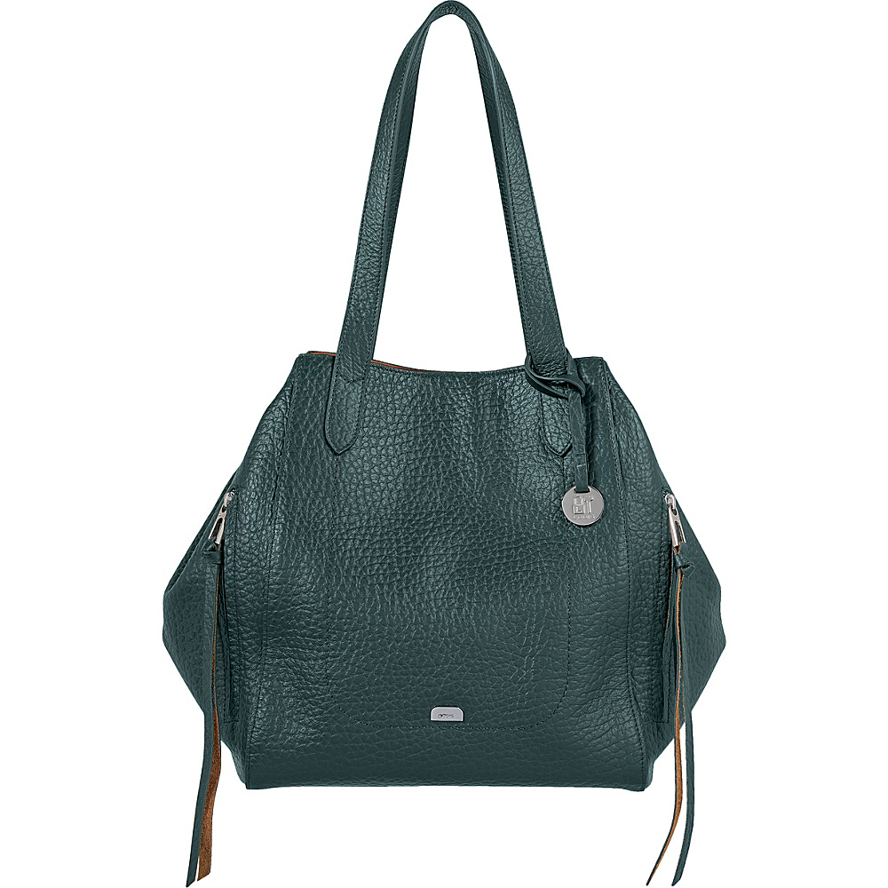 Lodis Borrego RFID Charlize Tote Forest - Lodis Leather Handbags - Handbags, Leather Handbags