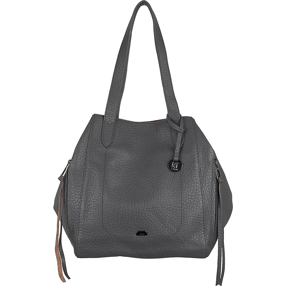 Lodis Borrego RFID Charlize Tote Slate - Lodis Leather Handbags - Handbags, Leather Handbags