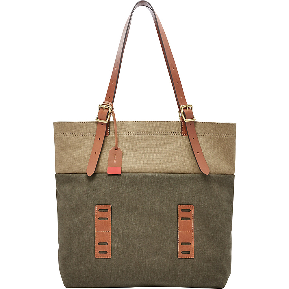 Fossil Defender Tote Green - Fossil Leather Handbags - Handbags, Leather Handbags