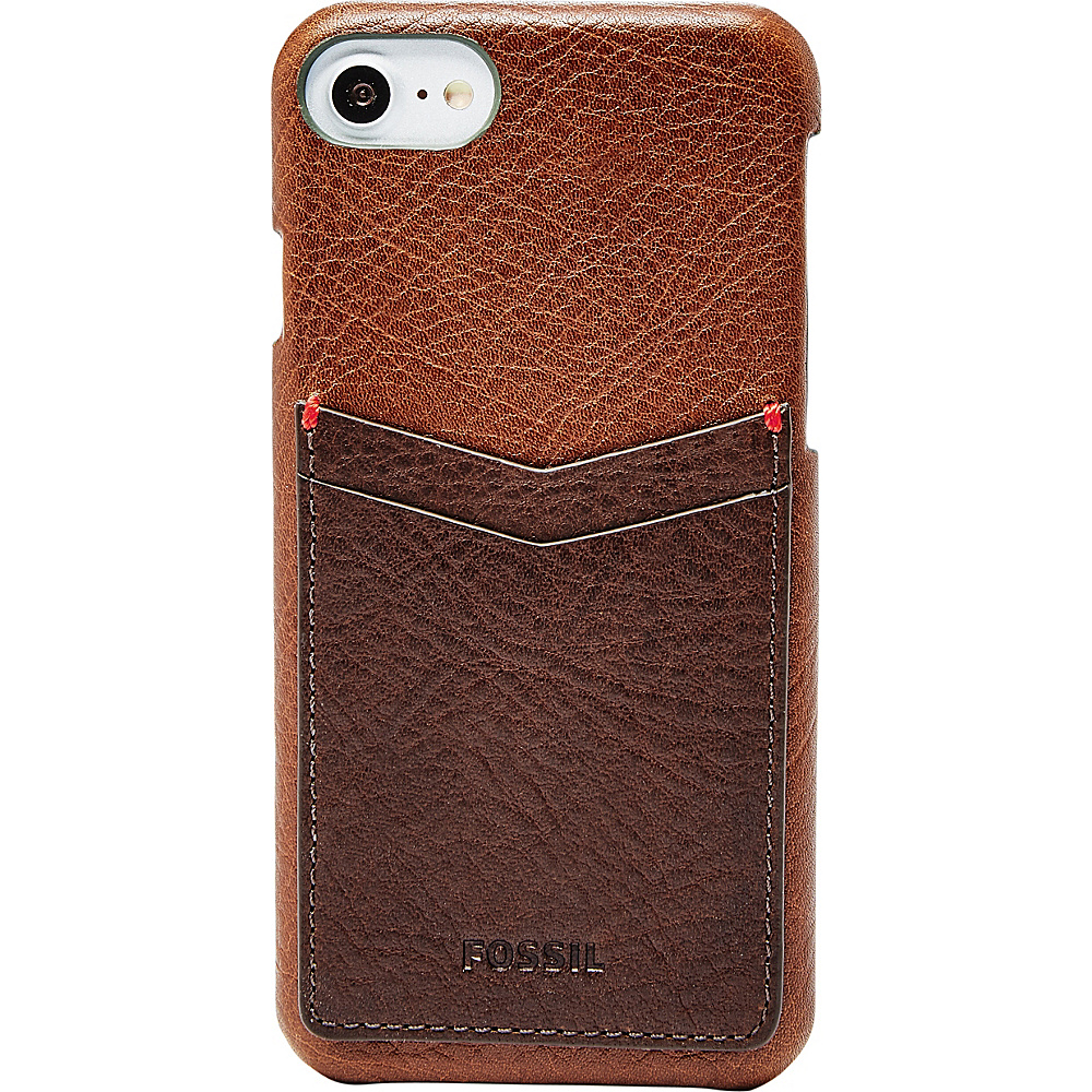 Fossil Phone Case Wallet Brown - Fossil Electronic Cases - Technology, Electronic Cases