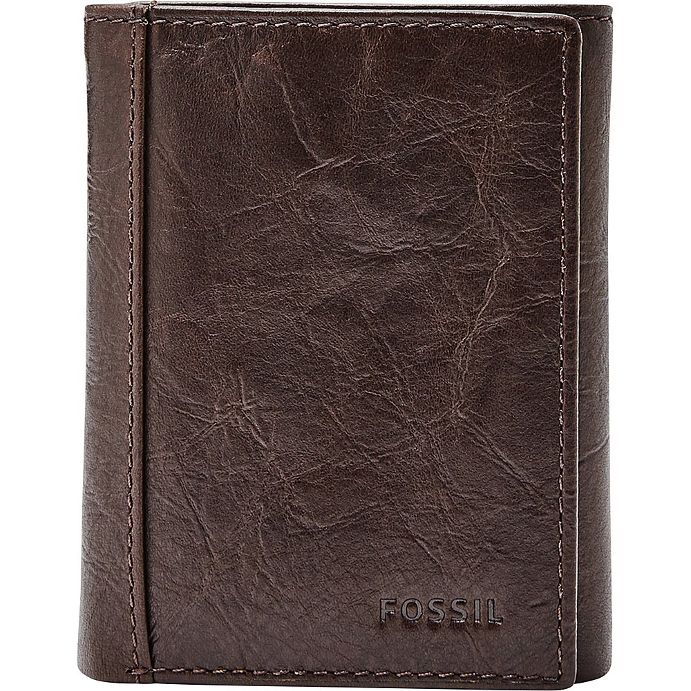 Fossil Neel Trifold Brown - Fossil Mens Wallets - Work Bags & Briefcases, Men's Wallets