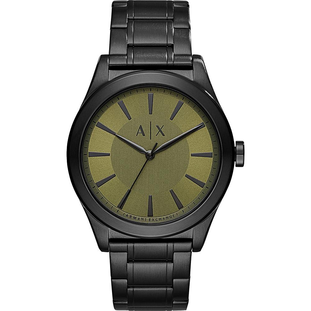 A/X Armani Exchange Street Watch Black - A/X Armani Exchange Watches