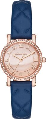 Michael Kors Watches Michael Kors Watches Petite Norie Three-Hand Watch Blue - Michael Kors Watches Watches