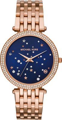 Michael Kors Watches Darci Three-Hand Watch Rose Gold - Michael Kors Watches Watches