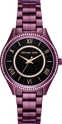 Michael Kors Watches Lauryn Three-Hand Watch Purple - Michael Kors Watches Watches