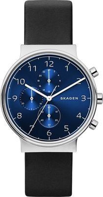 Skagen Ancher Chronograph Black - Skagen Watches