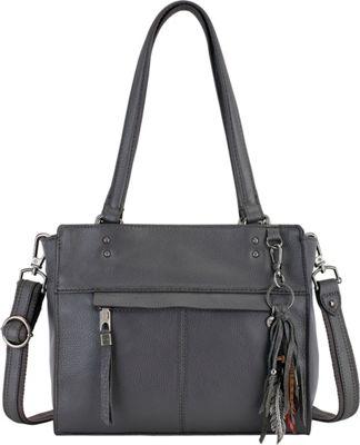 The Sak Alameda Satchel Slate - The Sak Leather Handbags