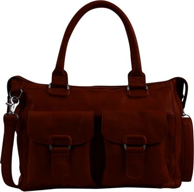 Day & Mood Aya Satchel Rusty Red - Day & Mood Leather Handbags