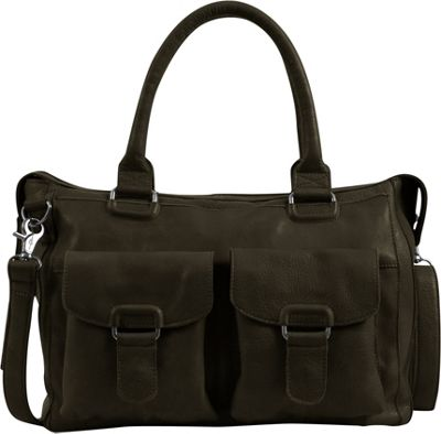Day & Mood Aya Satchel Slate - Day & Mood Leather Handbags