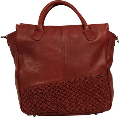 Day & Mood Angel Tote Rusty Red - Day & Mood Leather Handbags