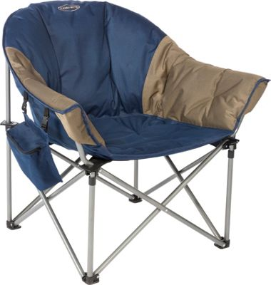 Kamp Rite Kamp Rite Kozy Klub Chair Blue / Khaki - Kamp Rite Outdoor Accessories