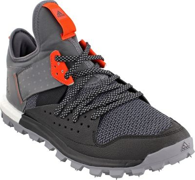 Adidas outdoor Mens Response Trail Shoe 12 - Black/Grey F...