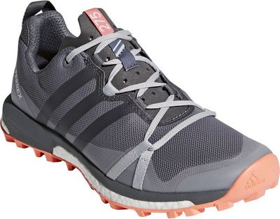 adidas outdoor Womens Terrex Agravic Shoe 7.5 - Grey Three/Grey Four/Chalk Coral - adidas outdoor Women's Footwear