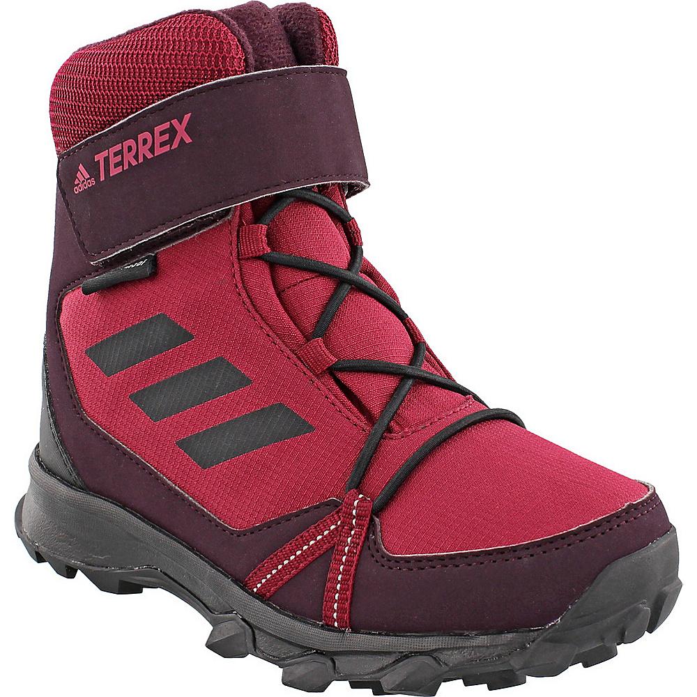 adidas outdoor Kids Terrex Snow CF CP CW Shoe 12.5 (US Kids) - Mystery Ruby/Black/Dark Burgundy - adidas outdoor Womens Footwear - Apparel & Footwear, Women's Footwear