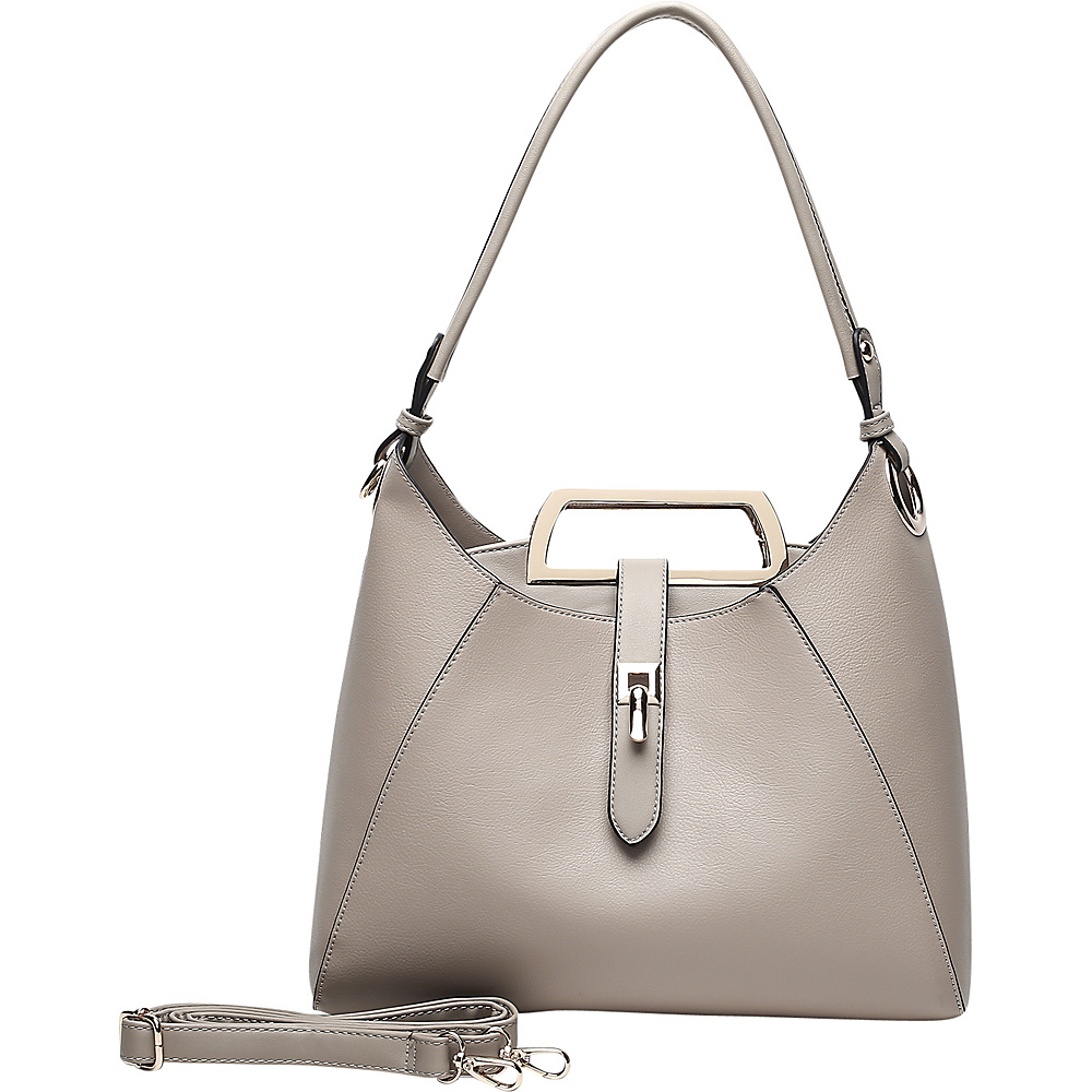 MKF Collection by Mia K. Farrow Beatrice Hobo Apricot - MKF Collection by Mia K. Farrow Manmade Handbags - Handbags, Manmade Handbags