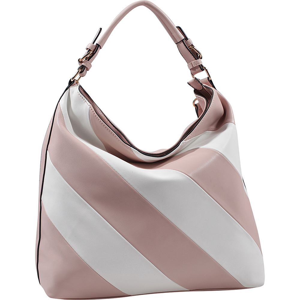 MKF Collection by Mia K. Farrow Yamileth Hobo Blush - MKF Collection by Mia K. Farrow Manmade Handbags - Handbags, Manmade Handbags