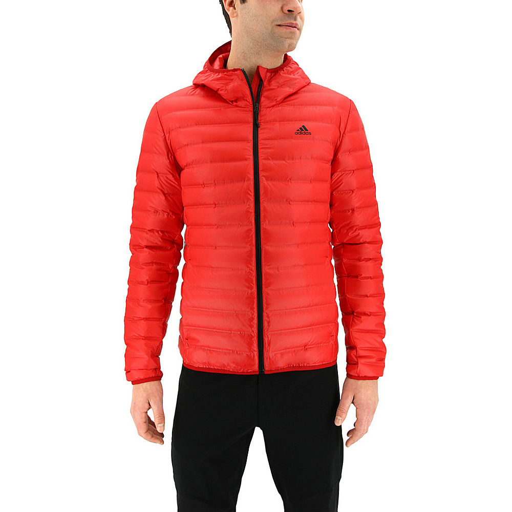 adidas outdoor Mens Varilite Hoodie S - Scarlet - adidas outdoor Mens Apparel - Apparel & Footwear, Men's Apparel
