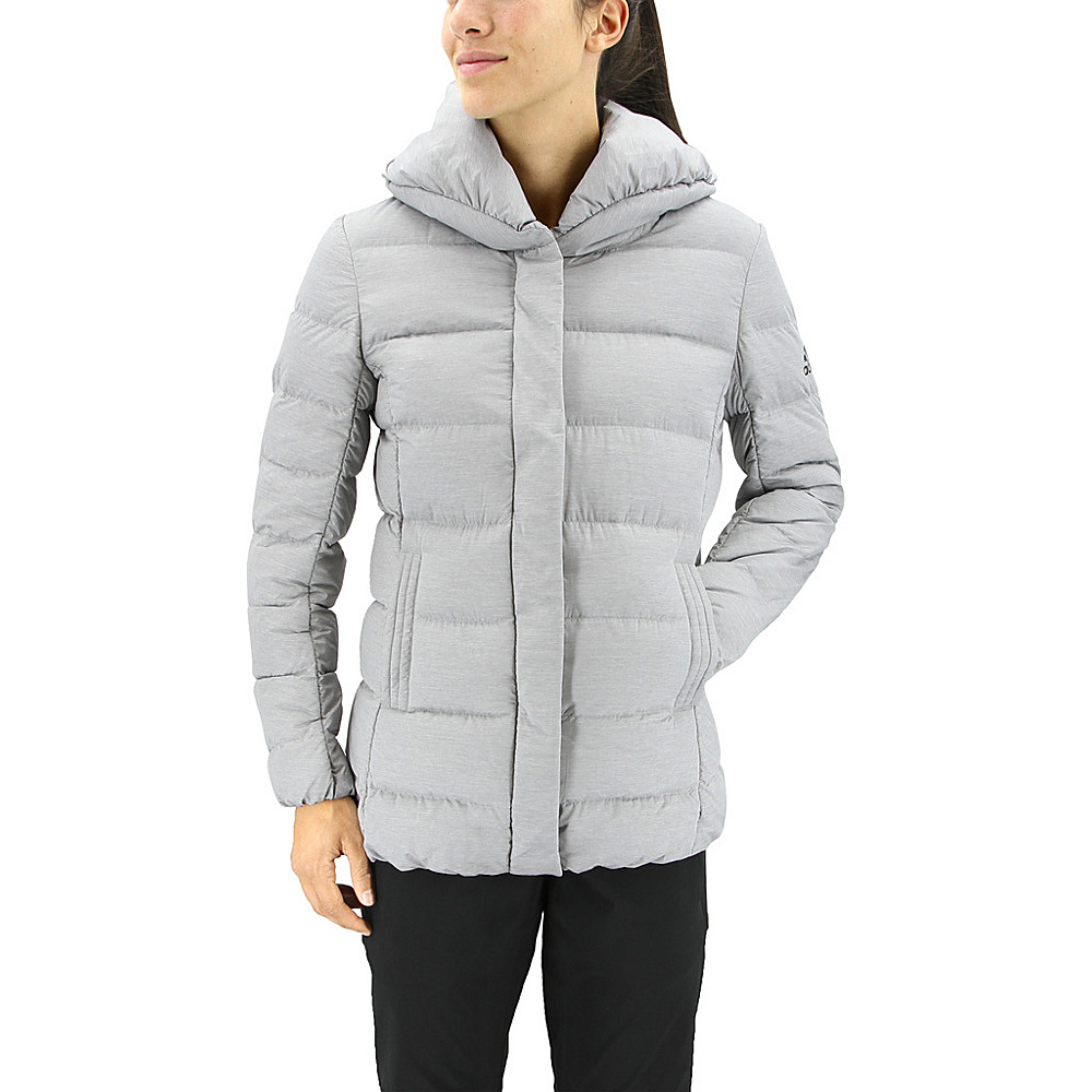 adidas outdoor Womens Nuvic Shawl XL - Medium Grey Heather/Ch Solid Grey - adidas outdoor Womens Apparel - Apparel & Footwear, Women's Apparel