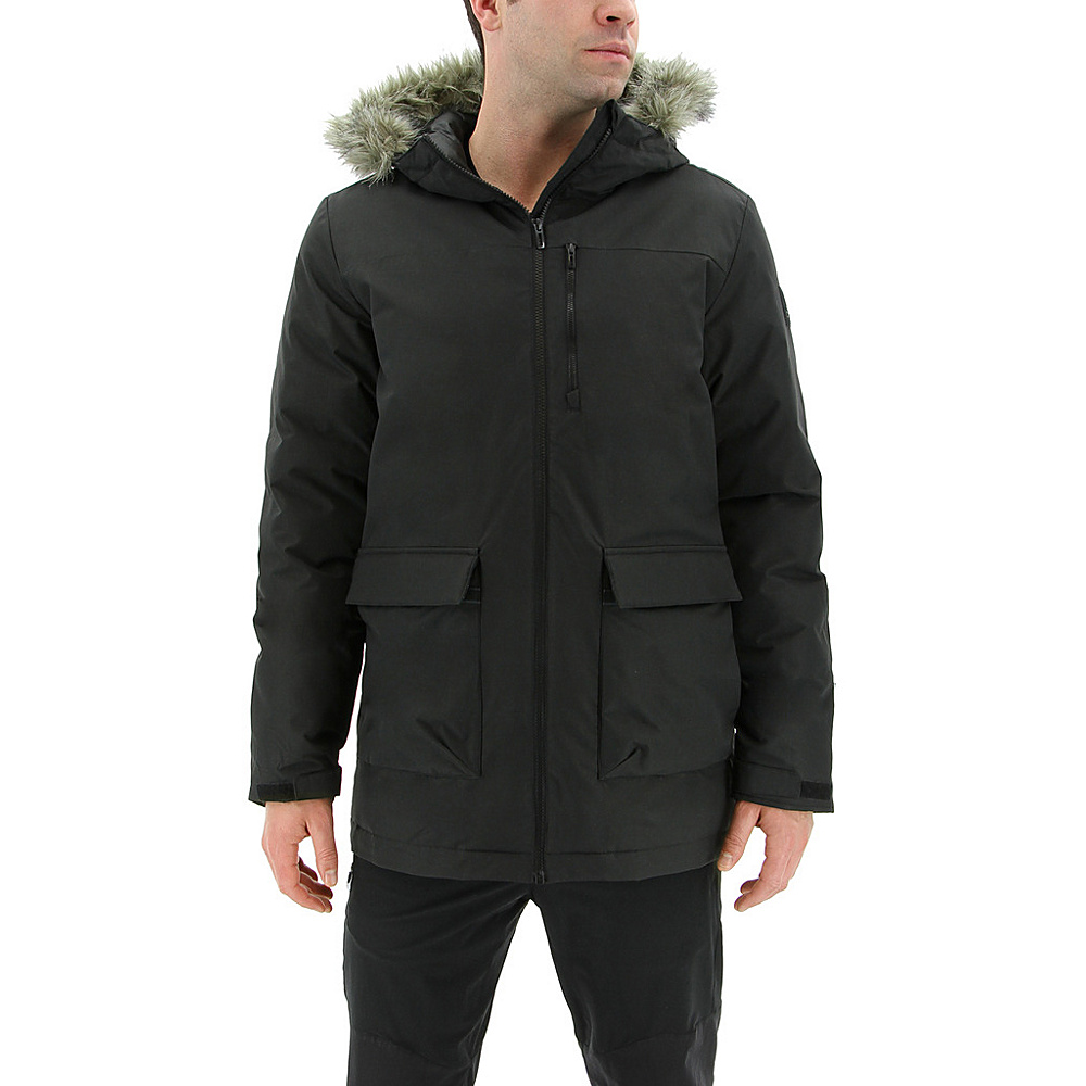 adidas outdoor Mens Xploric Parka L - Black - adidas outdoor Mens Apparel - Apparel & Footwear, Men's Apparel