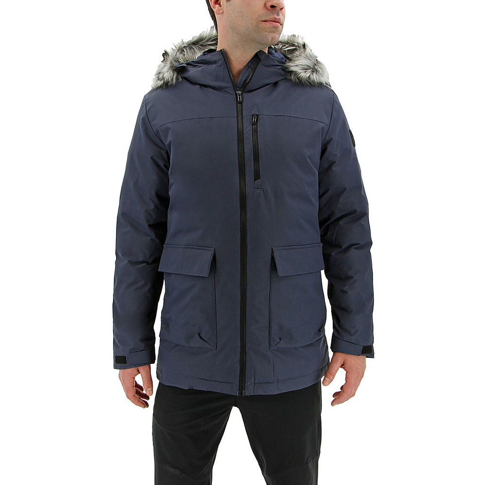 adidas outdoor Mens Xploric Parka 2XL - Trace Blue - adidas outdoor Mens Apparel - Apparel & Footwear, Men's Apparel