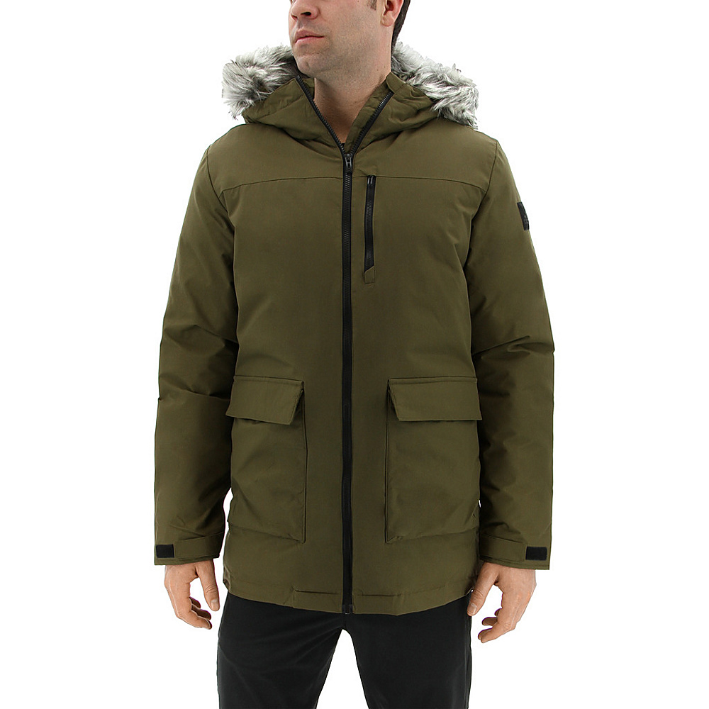 adidas outdoor Mens Xploric Parka S - Trace Olive - adidas outdoor Mens Apparel - Apparel & Footwear, Men's Apparel