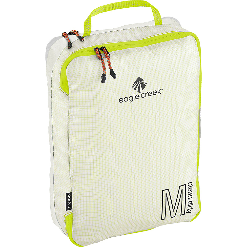 Eagle Creek Pack-It Specter Tech Clean/Dirty Cube M White/Strobe - Eagle Creek Packing Aids - Travel Accessories, Packing Aids