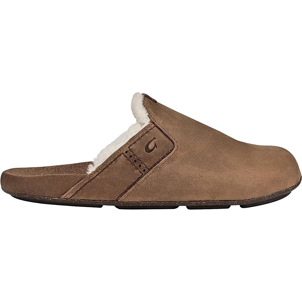OluKai Mens Noho Kai Winter Slipper 9 - Toffee/Toffee - OluKai Mens Footwear - Apparel & Footwear, Men's Footwear