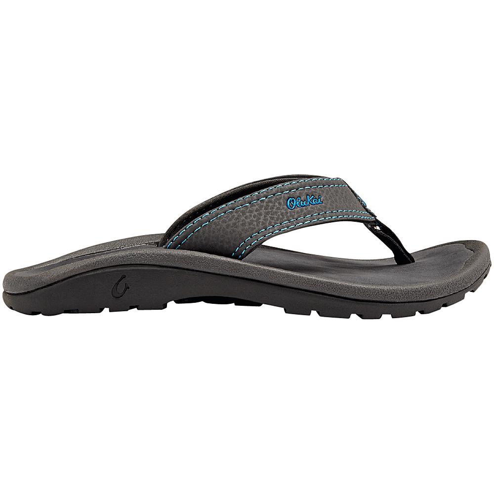 OluKai Boys Ohana Sandal M (US Kids) - Dark Java/Navy - OluKai Mens Footwear - Apparel & Footwear, Men's Footwear