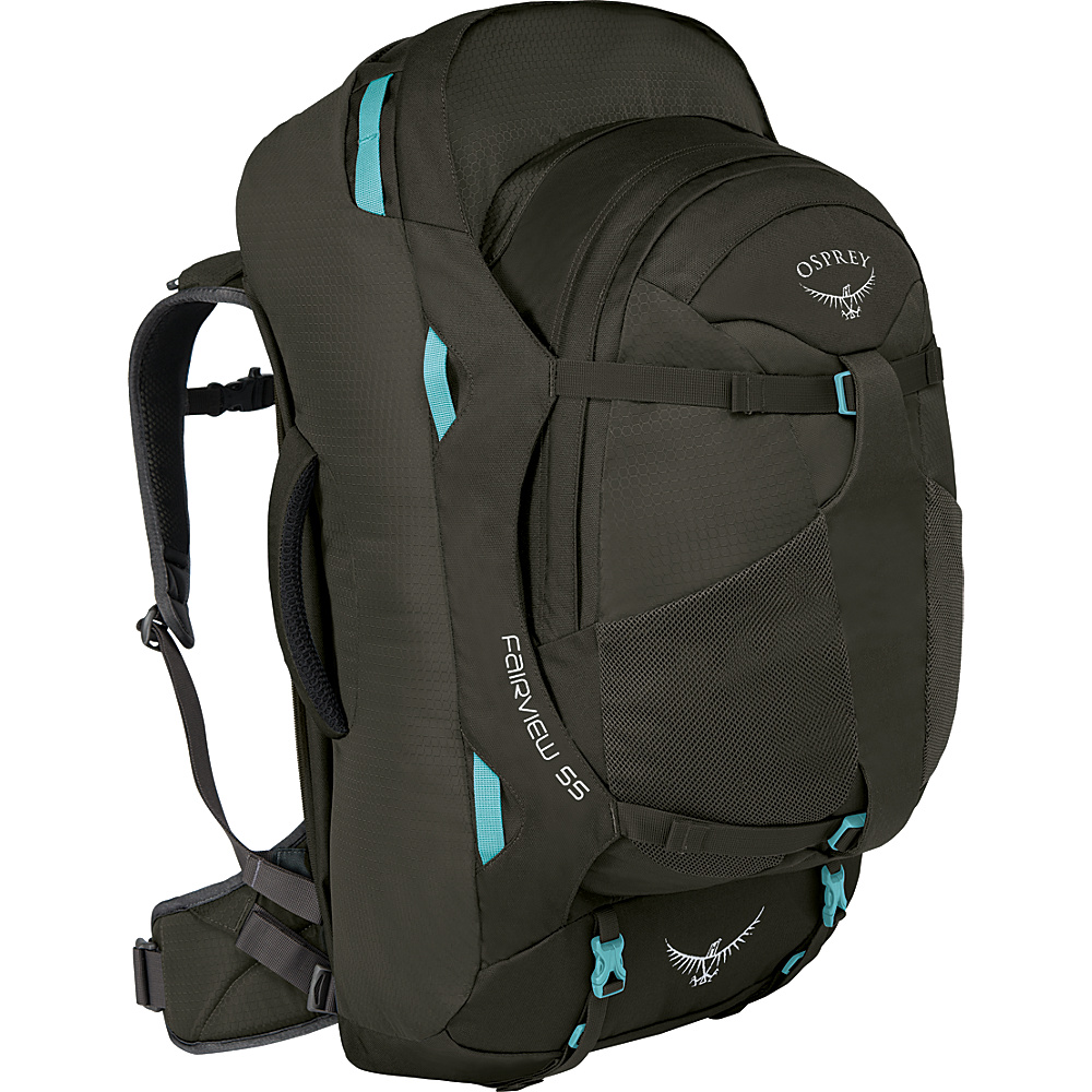 Osprey Womens Fairview 55L Travel Backpack Misty Grey - XS/S - Osprey Travel Backpacks - Backpacks, Travel Backpacks