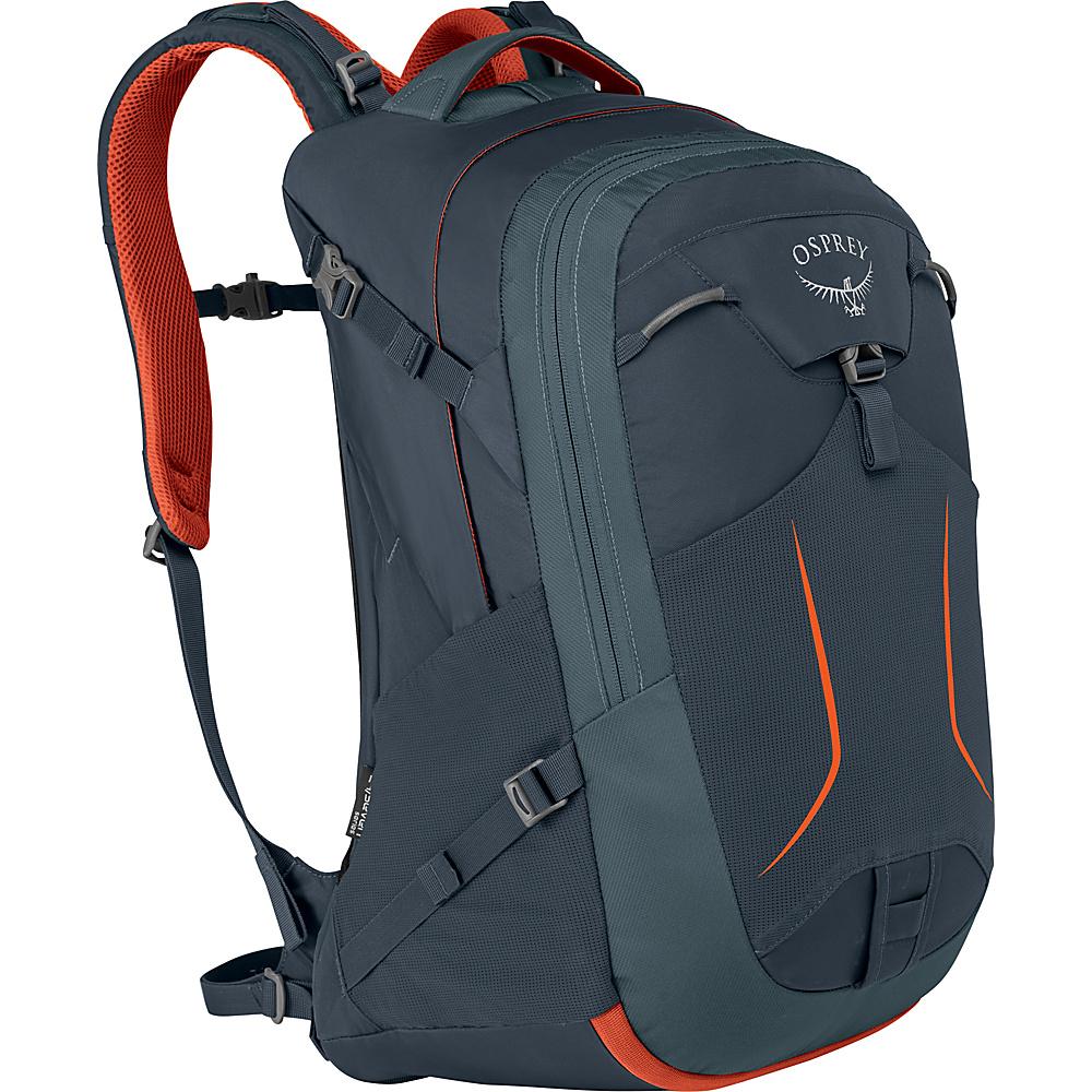 Osprey Pandion 30L Laptop Backpack Armor Grey - Osprey Laptop Backpacks - Backpacks, Laptop Backpacks