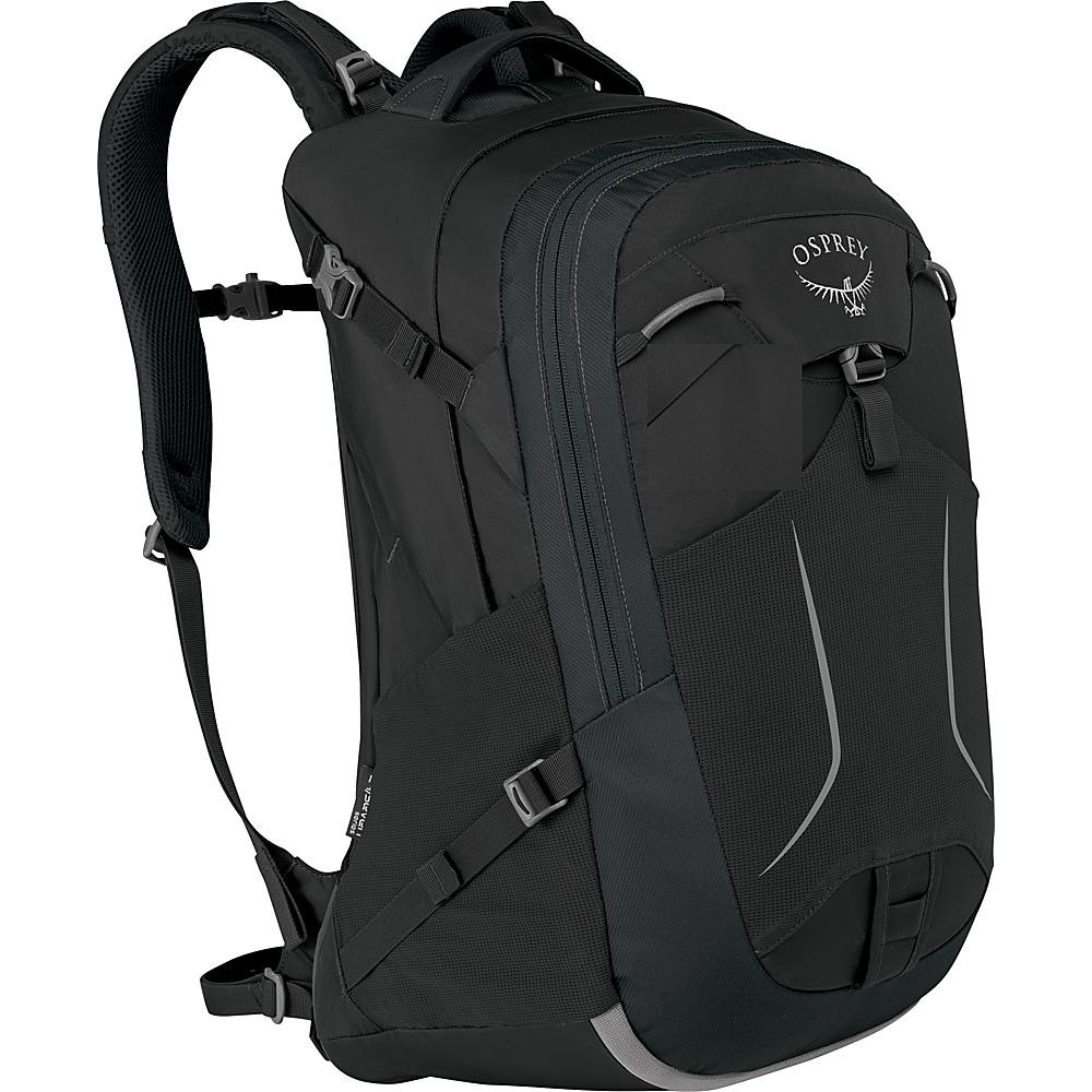 Osprey Pandion 30L Laptop Backpack Black - Osprey Laptop Backpacks - Backpacks, Laptop Backpacks