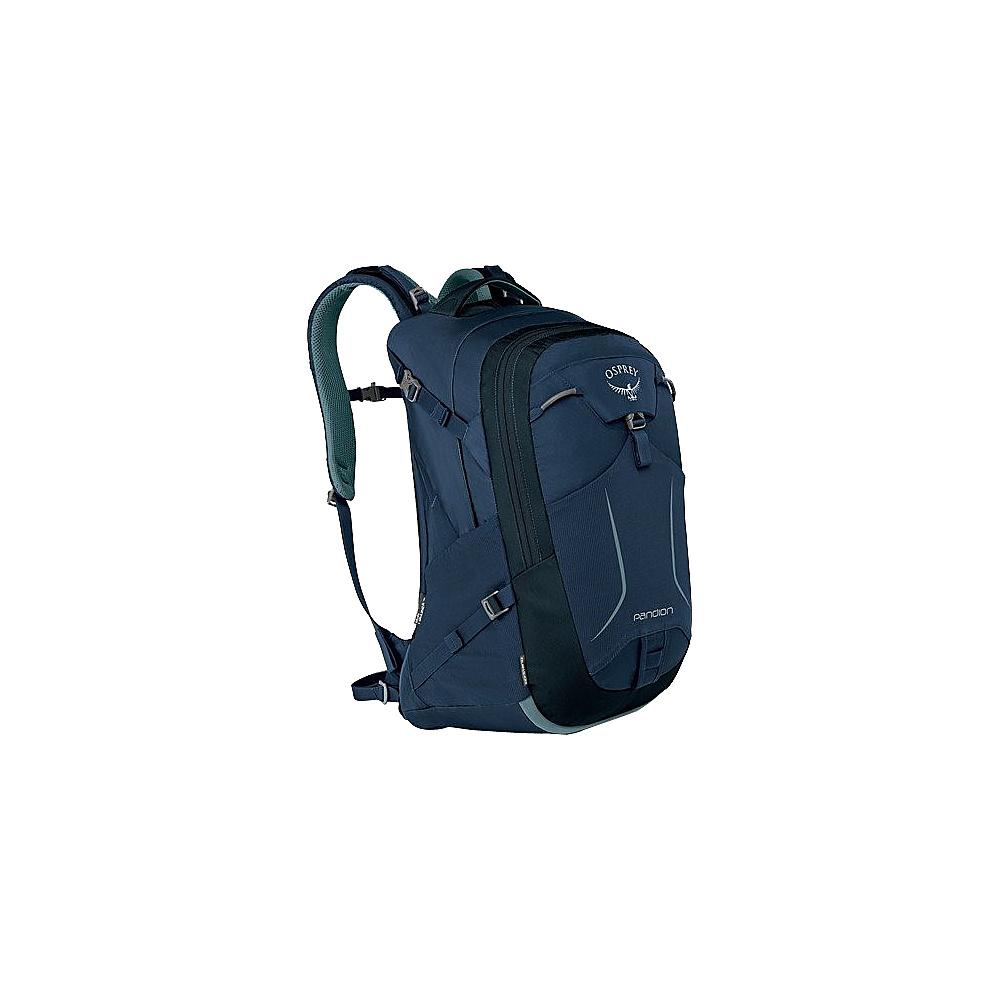 Osprey Pandion 30L Laptop Backpack Navy Blue - Osprey Laptop Backpacks - Backpacks, Laptop Backpacks