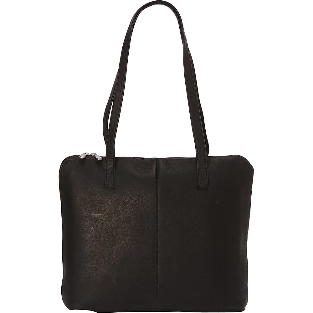 Le Donne Leather Moderno Business Tote Black - Le Donne Leather Leather Handbags - Handbags, Leather Handbags