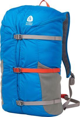 Sierra Designs Flex Summit 18L-23L Hiking Pack Blue jewel - Sierra Designs Day Hiking Backpacks